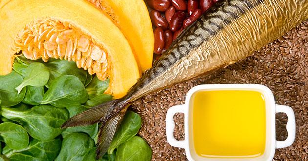 Nyttiga fetter i form av rätt kost